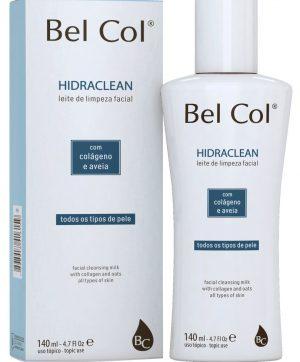 Bel Col Hidraclean 140ml -Leite de Limpeza Facial