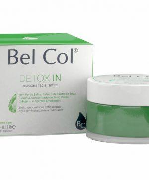 Bel Col Oligotouch Detox IN 50g - Máscara Facial Safira