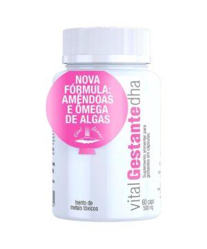 Vital Gestante DHA Suplemento Alimentar para Gestantes - 60 Caps de 500mg
