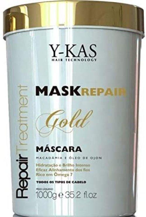 Máscara-De-Tratamento-Ykas-Gold-Mask-Repair-1kg