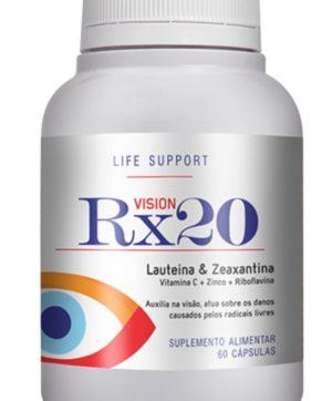 RX 20 Vision 60 Cápsulas | Amostra Grátis