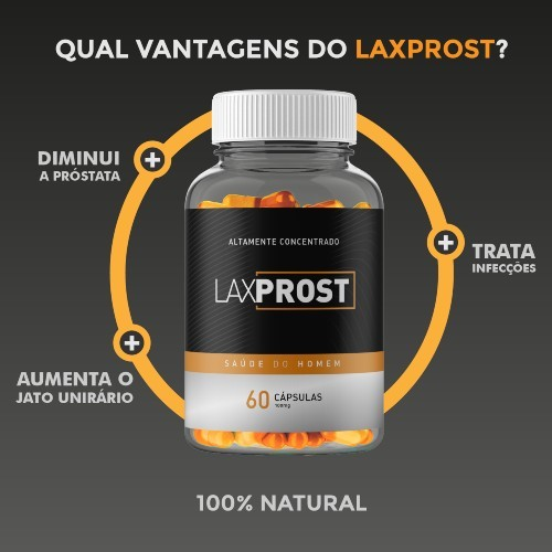 LaxProst 60 Caps - Centro Natural